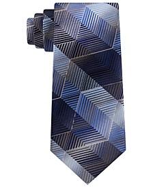 Men's Marine Classic Zig-Zag Stripe Tie