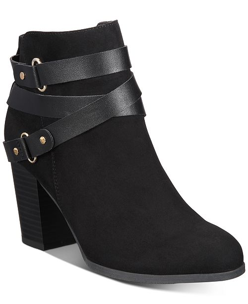 Material Girl Melany Booties, Created for Macy's