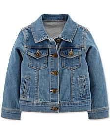 Toddler Girls Classic Denim Jacket
