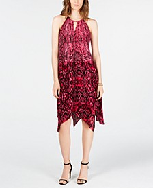 INC Python-Print Dress, Created for Macy's