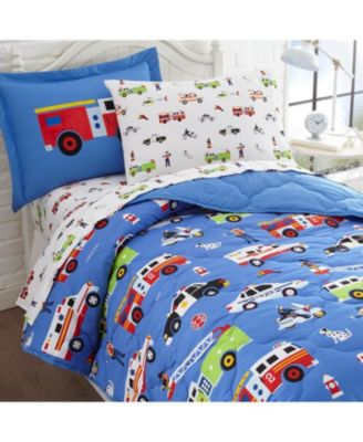 Heroes 5 Pc Bed in a Bag - Twin