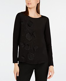 Weekend Max Mara Aloe Embellished Top