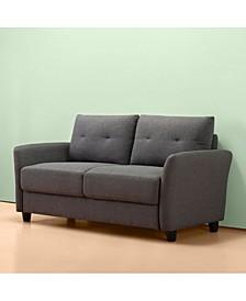 Ricardo Contemporary Upholstered Loveseat