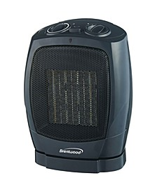 H-C1600 Oscillating Ceramic Space Heater and Fan