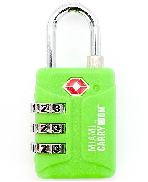 2f23f13c96ee TSA Approved Combination Padlock - TSA Luggage Lock, 1-3/16 Wide