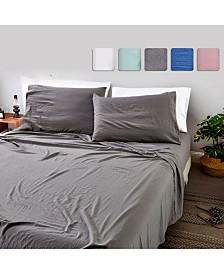 California Design Den 4-Piece Sheet Set, King