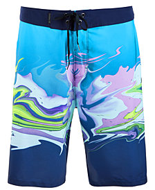 "Hurley Men's Phantom Voodoo Stretch Quick-Dry Abstract-Print 20"" Board Shorts"