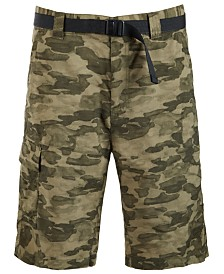 Columbia Men's Battle Ridge II Camo-Print Cargo Shorts