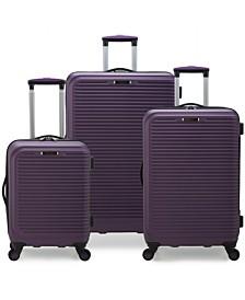 Elite Luggage Helsinki 3-Piece Hardside Luggage Spinner Set