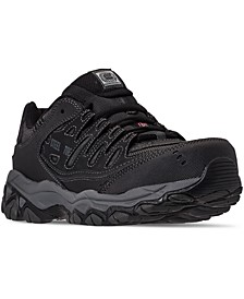 Men's Relaxed-Fit Crankton Steel Toe Work Sneakers from Finish Line