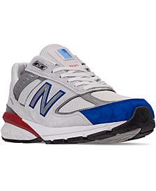 Men's 990 V5 Americana Running Sneakers from Finish Line