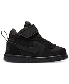 Nike Toddler Boys Court Borough Stay-Put Closure Casual Sneakers from Finish Line
