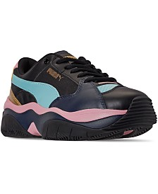 Puma Women's STORM.Y Metallic Casual Sneakers from Finish Line