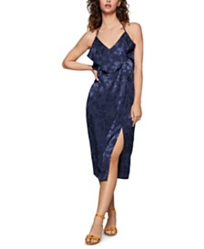 BCBGeneration Jacquard Halter Sheath Dress