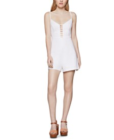 BCBGeneration Ladder-Front Romper