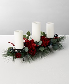 Rose & Pine Artificial Centerpiece, Created for Macy's