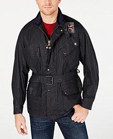 Barbour International Steve McQueen  Men's Joshua Wax Jacket, Created For Macy's