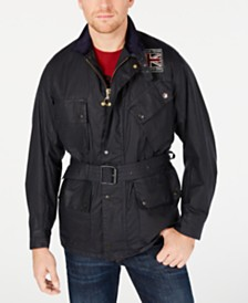 Barbour International Steve McQueen  Men's Joshua Wax Jacket, Created For Macy's
