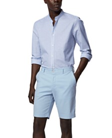 BOSS Men's Lightweight Shorts in Italian Stretch Cotton