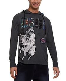 Men's Eduard Graphic Hooded T-Shirt