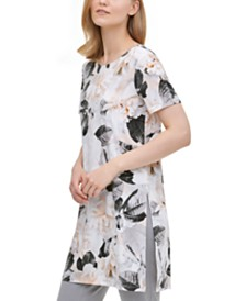 Calvin Klein Floral Print Tunic