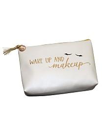 Lillian Rose Wake Up and Makeup Cosmetic Bag