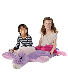 Signature Jumboz Magical Unicorn Oversized Stuffed Animal Plush Toy