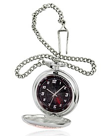 Men's Marvel's Spider-Man Silver Chain Pocket Watch 51mm