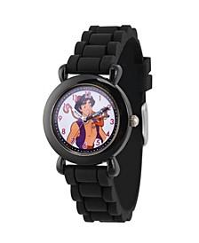 Boy's Disney Aladdin Abu Aladdin Black Strap Watch 32mm