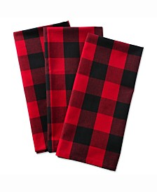 Buffalo Check Dishtowel, Set of 3