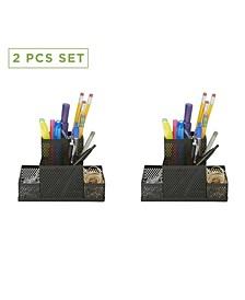 2 Piece Pencil Cup Organizer