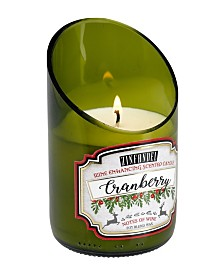 DecoFlair Holiday Wine - Cranberry Zinfandel Candle
