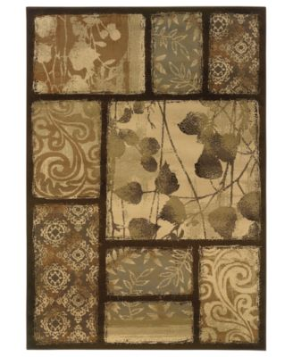 "CLOSEOUT! Area Rug, Pember 8025D Serenity 22"" x 34"""