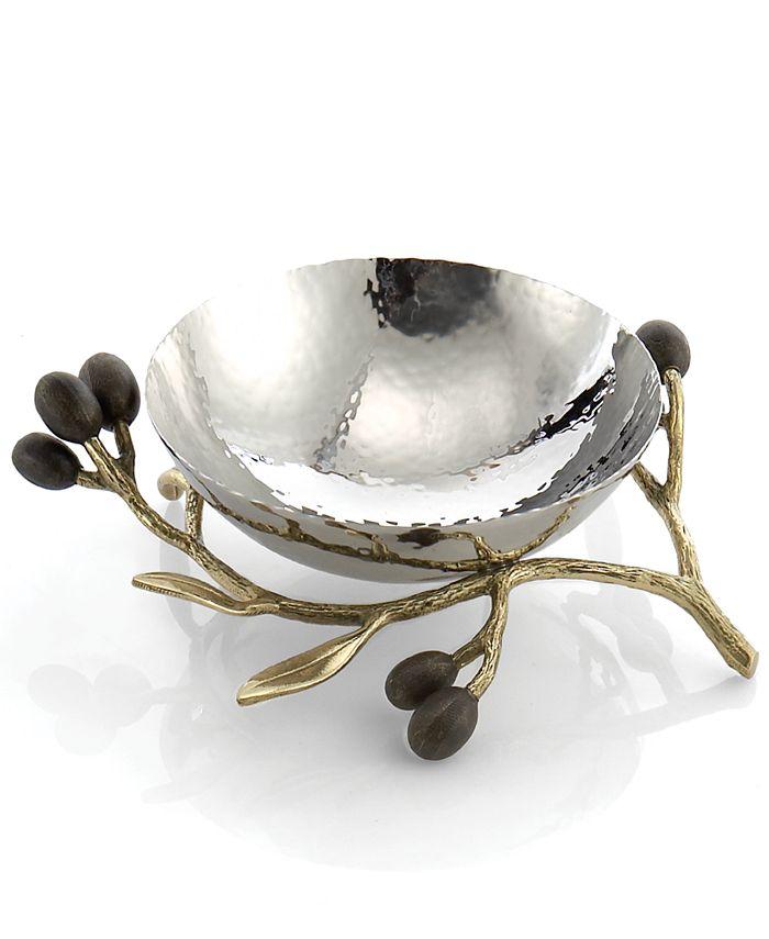 Michael Aram - Olive Branch Gold Nut Bowl