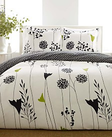 Perry Ellis Asian Lily Full/Queen Comforter Set