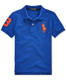Polo Ralph Lauren Toddler Boys Cotton Mesh Polo Shirt