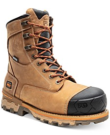 Men's Boondock Safety-Toe Work Boots