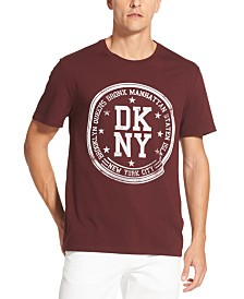 DKNY Men's Borough Stamp Logo Graphic T-Shirt