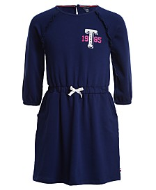 Tommy Hilfiger Big Girls French Terry Logo Dress