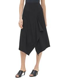 Calvin Klein Textured Asymmetrical Skirt