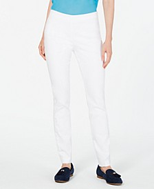 Petite Chelsea Stretch-Twill Skinny Pants, Created for Macy's