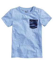 Epic Threads Little Boys Camo-Pocket T-Shirt, Created for Macy's