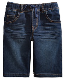 Little Boys Keith Stretch Denim Shorts, Created for Macy's