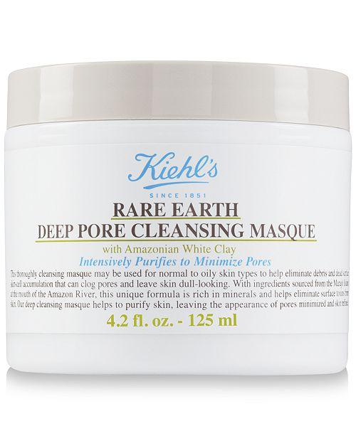 Kiehl's Since 1851 Rare Earth Deep Pore Cleansing Masque, 4.2 fl. oz.