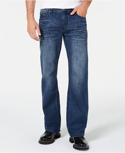 INC International Concepts INC Men's Malcolm Relaxed-Fit Jeans, Created for Macy's