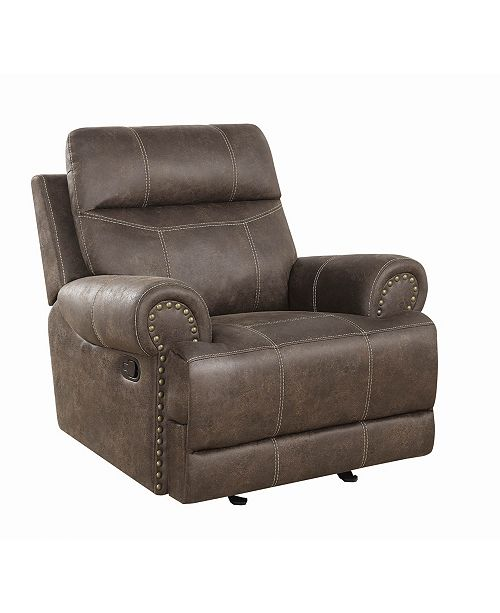 Coaster Home Furnishings Brixton Upholstered Glider Recliner