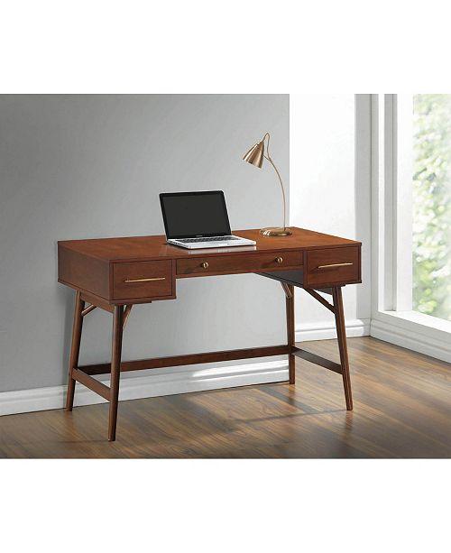 Coaster Home Furnishings 3-Drawer Writing Desk