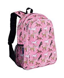 "Wildkin Horses in Pink 15"" Backpack"