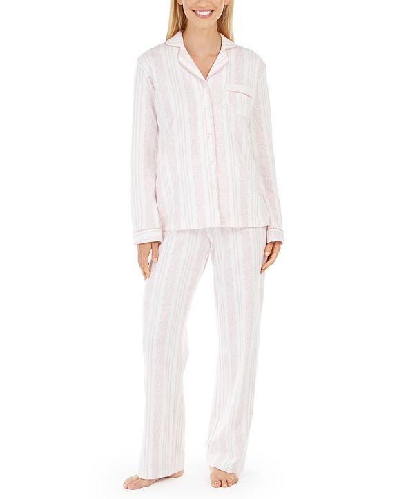 Charter Club Printed Pajama Set & Supersoft Cozy Socks Sleep Separates, Created for Macy's