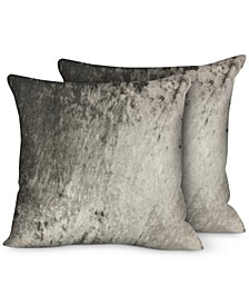"2-Pk. Velvet 20"" x 20"" Decorative Pillows"